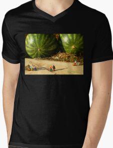 Nice Melons Mens V-Neck T-Shirt