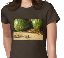 Nice Melons Womens Fitted T-Shirt