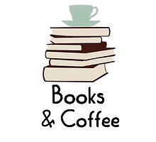 Books and coffee design by Fandomsdepp