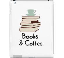 Books and coffee design iPad Case/Skin