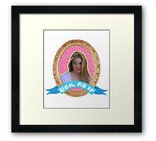 Cher Horowitz Frame Framed Print