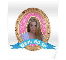 Cher Horowitz Frame Poster