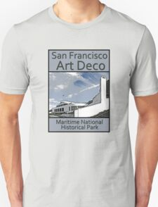 San Francisco Art Deco - Maritime National Historical Park T-Shirt