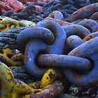 Rainbow  Ship-Chain #1 by artist4peace