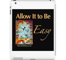 I am Wind - on black iPad Case/Skin