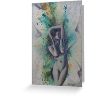 Thrills and Spills Fairy Greeting Card