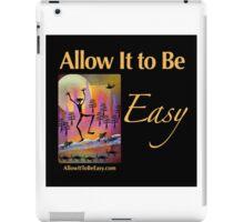 Celebration - on black iPad Case/Skin