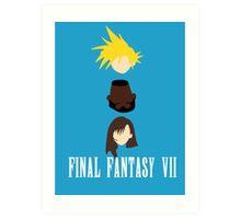 BFF (Best Final Fantasy) Art Print