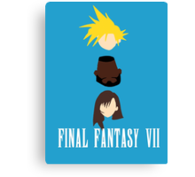 BFF (Best Final Fantasy) Canvas Print