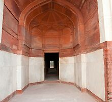 The architecture and doorways of the Humayun Tomb in Delhi by ashishagarwal74