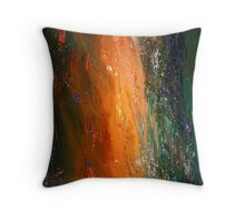 volcanic spills Throw Pillow