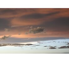Pastel Sunset Photographic Print