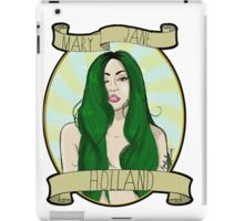 Mary Jane Holland  iPad Case/Skin