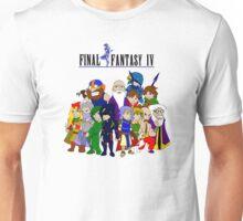 Final Fantasy 4 Characters Unisex T-Shirt