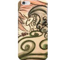 Doodlecorn by Pauline Campos iPhone Case/Skin
