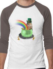 Irish Squirrel Men's Baseball ¾ T-Shirt