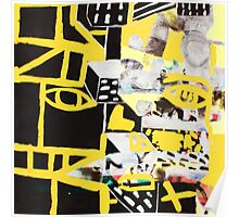 Yellow Manscape Poster