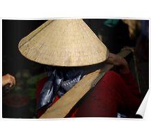 Vietnam Market Lady Poster
