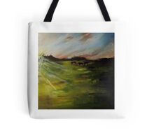Cows at Dawn Tote Bag