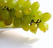 Green Grapes by Anaa