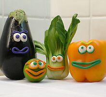 Vegan Vegetables by NataliaBubble