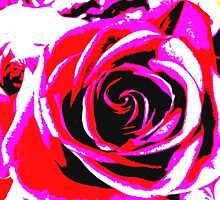 Abstract Rose by JenniferGruhl