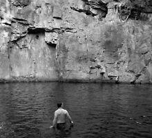 Waterhole, Litchfield Park, Northern Territory by John Douglas