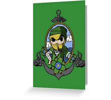 Sailor Link Greeting Card