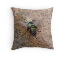 Green suits you Throw Pillow