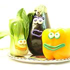 3 bright vegetables? by NataliaBubble
