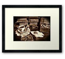 Morning Tea ~ HDR Framed Print