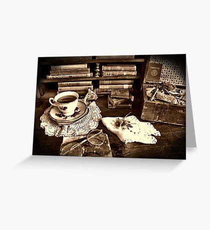 Morning Tea ~ HDR Greeting Card
