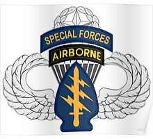 Special Forces Airborne Master Poster