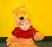 Olivia as Pooh by davidtid
