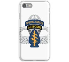 Special Forces Airborne Master iPhone Case/Skin