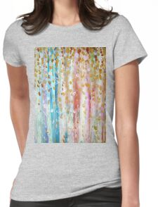 Rain of Joy Womens Fitted T-Shirt