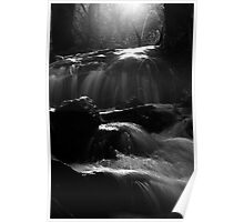 Gorge Rd Waterfall  Poster