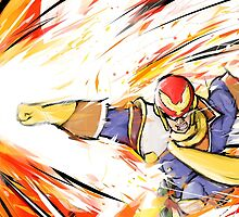 Captain Falcon | Falcon Punch by ishmam