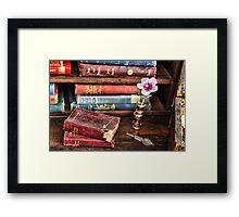 Clasic Novels Framed Print