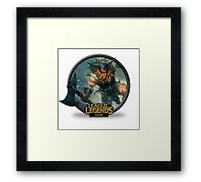 Olaf - League of Legends Framed Print