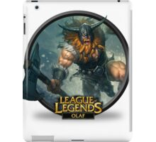 Olaf - League of Legends iPad Case/Skin