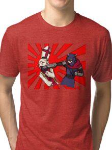 Keigo vs Pope Tri-blend T-Shirt