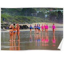 Lorne SLSC surf carnival Feb 2009 (15) Poster