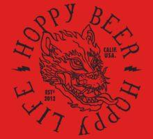 Hoppy Beer Hoppy Life Baby Tee