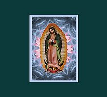 Stunning Star Version of Our Lady of Guadalupe  by CatholiCARDS