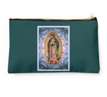 Stunning Star Version of Our Lady of Guadalupe  Studio Pouch
