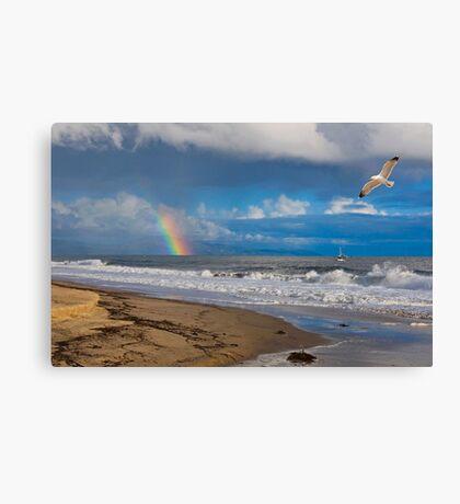 East Beach, Santa Barbara Canvas Print