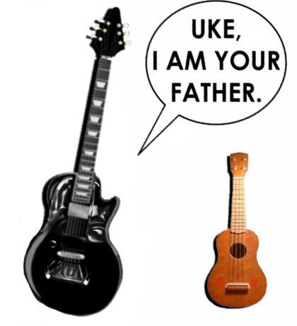 ukulele humor Sticker