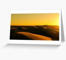 Imperial Sunset Greeting Card