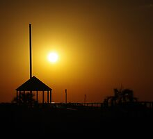 A summer's night at Port Noarlunga  by janfoster